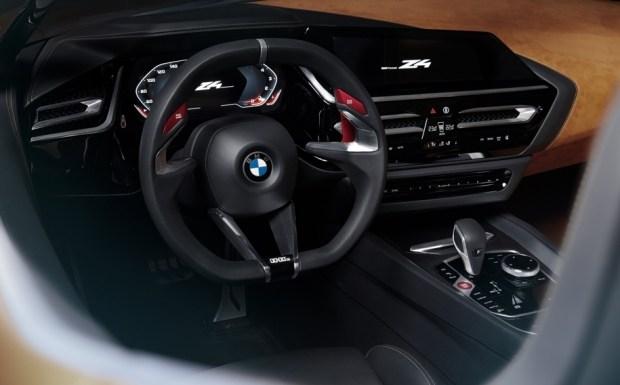 Салон концепт-кара BMW Concept Z4