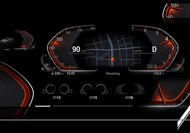 Новая виртуальная приборная панель BMW
