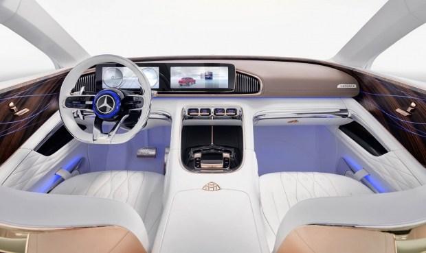 Всети интернет рассекретили информацию овнедорожном седане Mercedes-Maybach Ultimate Luxury