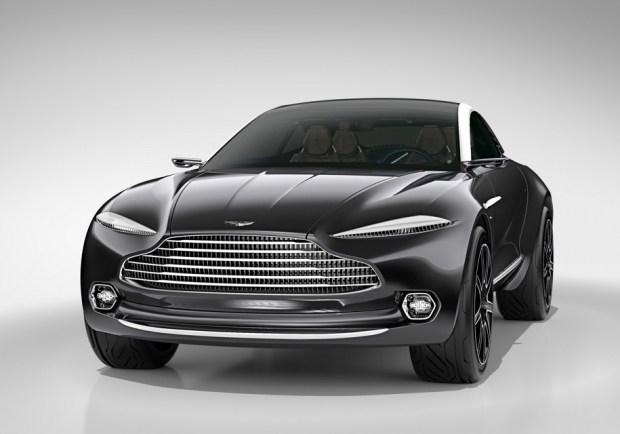 Концепт-кар Aston Martin DBX - предвестника серийного вседорожника марки - впервые показали в 2015 году. Прототип оснащался электрической силовой установкой