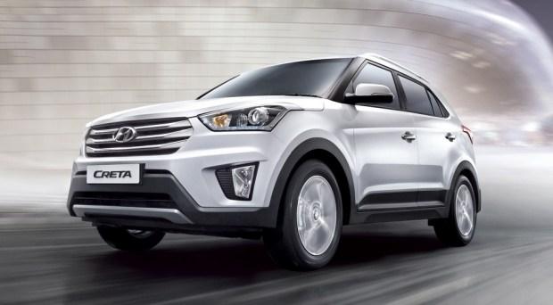 Дореформенный Hyundai Creta, версия для Индии