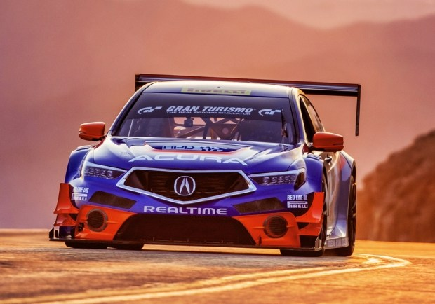 Acura TLX GT Питера Каннингема Acura TLX GT Питера Каннингема  Acura TLX GT Питера Каннингема