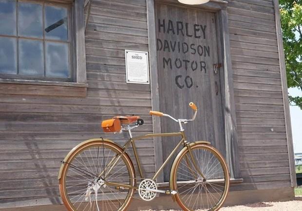 Велосипед от Harley-Davidson