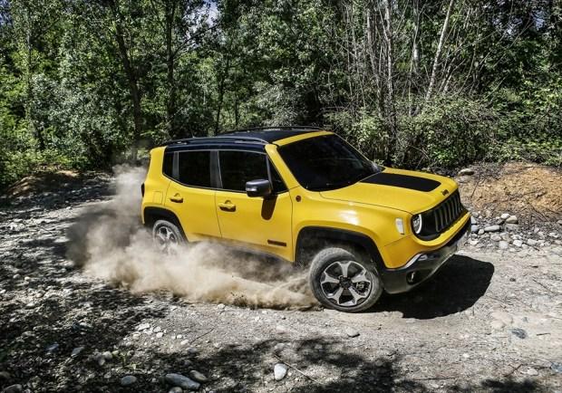 Jeep рассказал обобновленном кроссовере Jeep Renegade