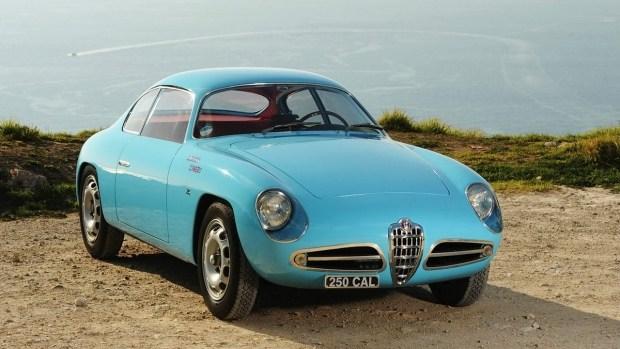 1956 Alfa Romeo Giulietta Sprint Veloce Zagato