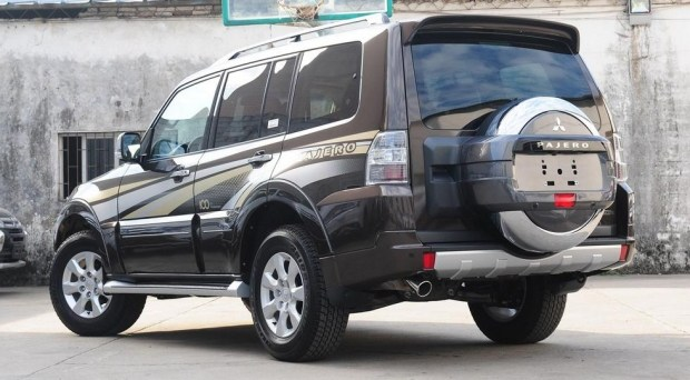 Mitsubishi Pajero, актуальная версия для Китая