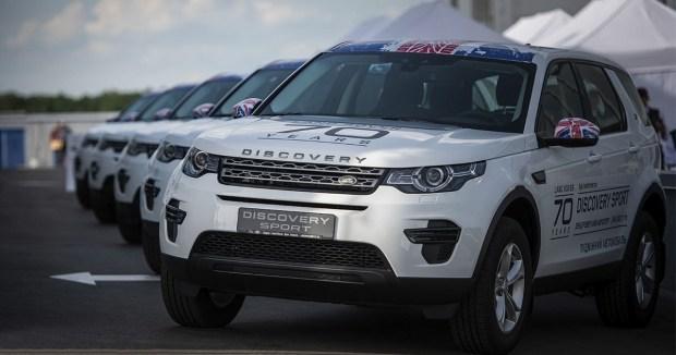 10 специально подготовленных Land Rover Discovery Sport в качестве подменных автомобилей