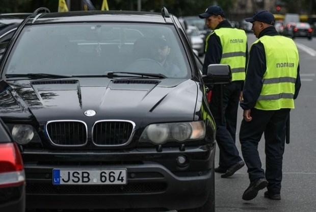 Как сейчас милиция будет вылавливать «евробляхи»— Штраф иконфискация