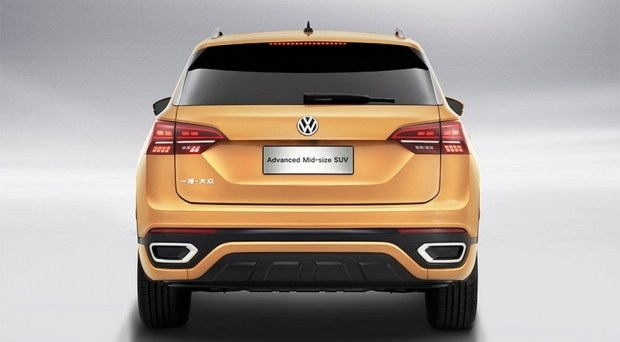 концепт Volkswagen Advanced Mid-Size SUV