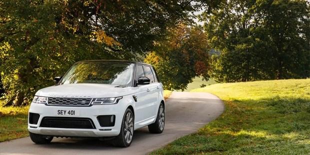 Лэнд-Ровер представил улучшенный Range Rover Sport