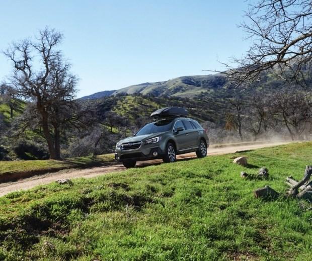 актуальный Subaru Outback для американского рынка