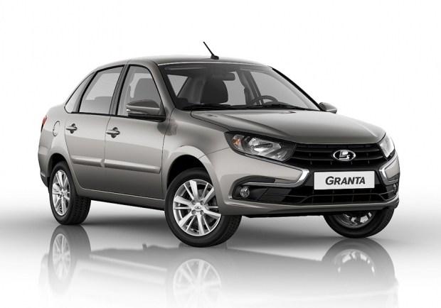 Автомобилистам представили новый седан Lada Granta