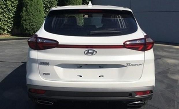 обновленный Hyundai Tucson, версия для Китая