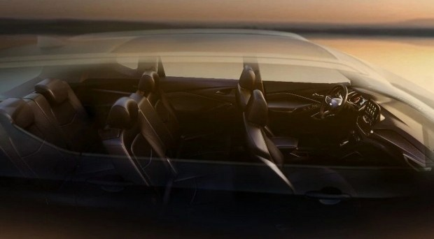 салон стандартного нового Chevrolet Orlando