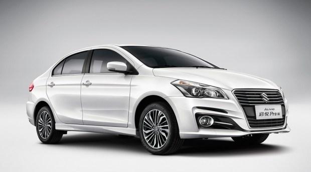 Обновленный Suzuki Alivio, для Китая