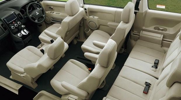 Mitsubishi Delica актуального покаления