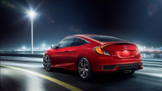 Honda Civic Coupe Sport 2019 модельного года