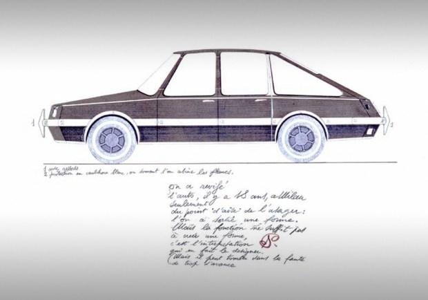Дизайн автомобиля, предложенный Джио Понти.