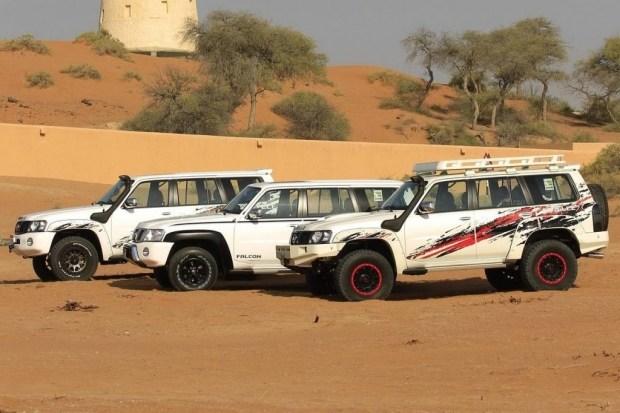 Вседорожный автомобиль Ниссан Patrol превратили в«Газель»