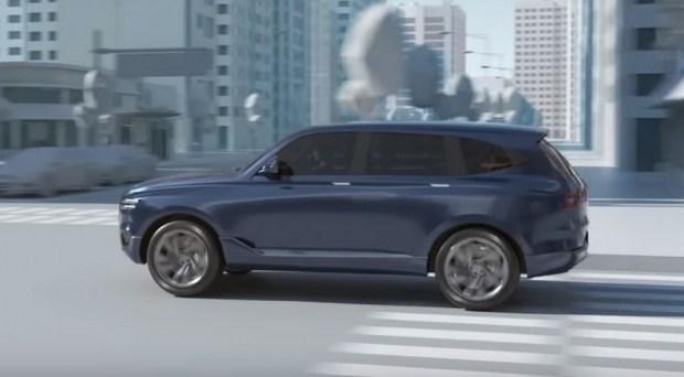 Hyundai намекнула напервый серийный кроссовер Genesis вофициальном видео