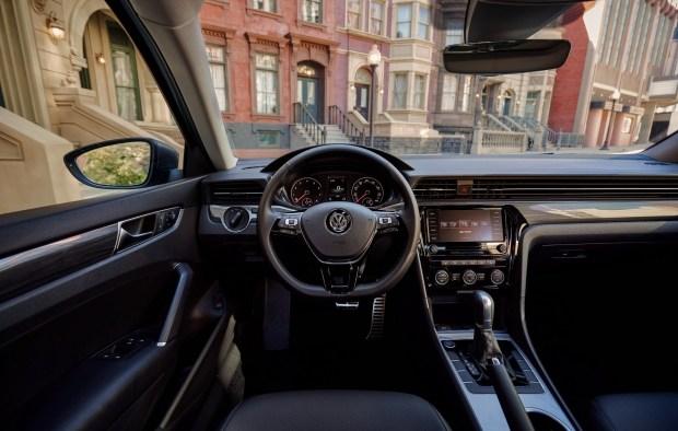 Рассекречен новый VW Passat