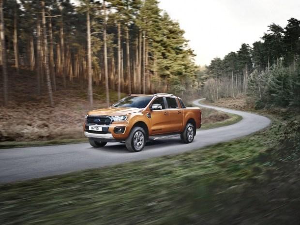 Улучшенный пикап Форд Ranger 2019 для Европы