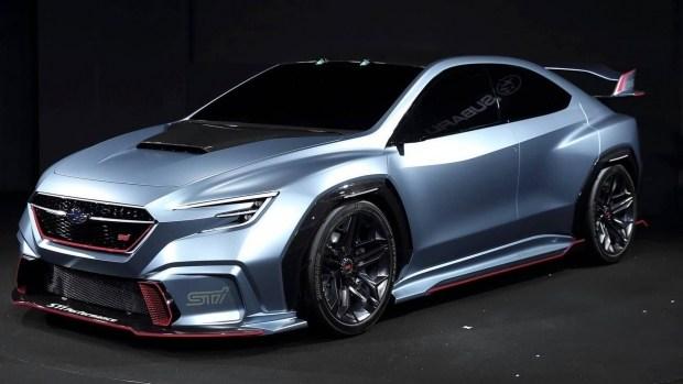 Subaru привезет вЖеневу «адреналиновый» кроссовер