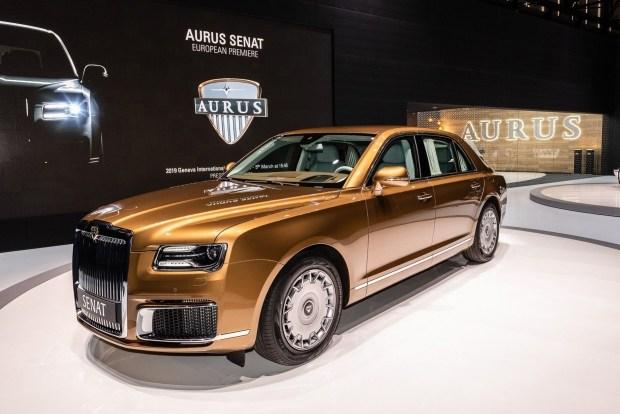 Toyota и Lamborghini предъявили претензии к российскому бренду Aurus