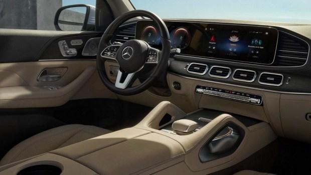 Официальные фотографии Mercedes-Benz GLS нового поколения