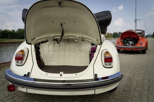 Классический Volkswagen Beetle переделали в электромобиль