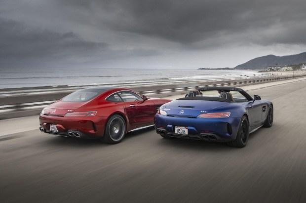 Новый суперкар Mercedes-AMG GT получит гибрид