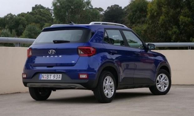Hyundai вывела на рынок кроссовер Venue в новой модификации