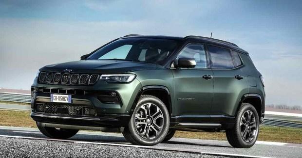 Jeep представил Compass для Европы