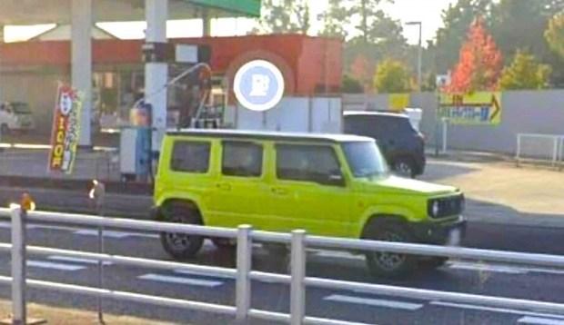 Пятидверный Suzuki Jimny обнаружили в Google-картах