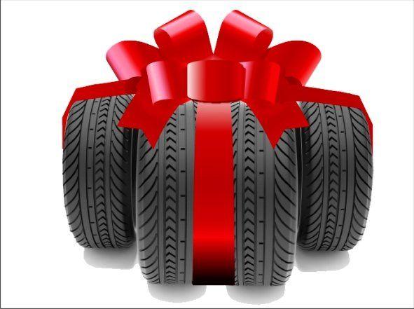 Комплект зимних шин в подарок 78