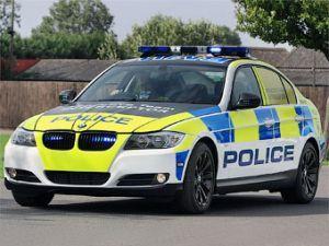Английские сотрудники полиции обретут дизельный автомобиль-перехватчик