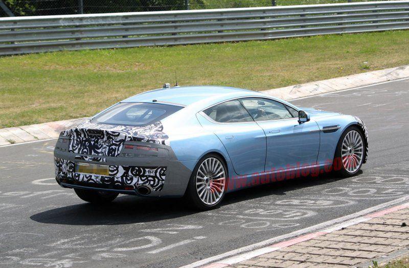 Mercedes-Benz CLS 63 AMG обрел серьезного конкурента - Aston Martin Rapide цена, фото