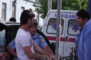Крым : за что ГАИшнику сломали челюсть ?