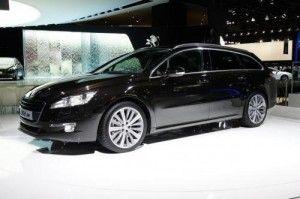 Peugeot 508 : новинка 2012 года - универсал повышенной проходимости (ФОТО)