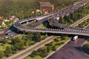 Ко Дню самостоятельности в Киеве достроят пару развязок