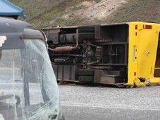 ДТП в Житомире: Audi повернула автобус с людьми