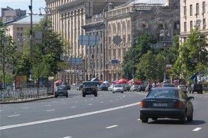 ГАИ представила опаснейшие улицы Киева