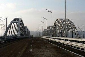 Дарницкий мост в Киеве закрыли на неделю