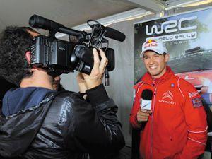 Авто-ралли Франции WRC продемонстрируют в прямом эфире полностью