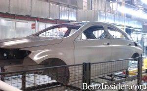 Обновленный Мерседес Бенц CLC будет представлен на автомобильном салоне в Нью-Йорке