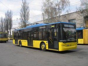 В Крыму не известные обстреляли троллейбус, полиция заявляет: пальбы не было