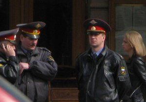 В Москве голый водитель разбил 17 автомобилей