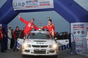 Алушта-ралли: до финиша добрались 37 авто из 52
