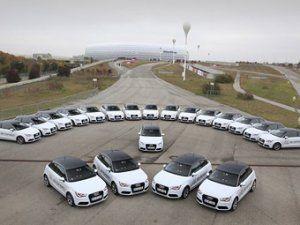 Audi начала испытывать на улицах Мюнхена электрические хэтчбеки