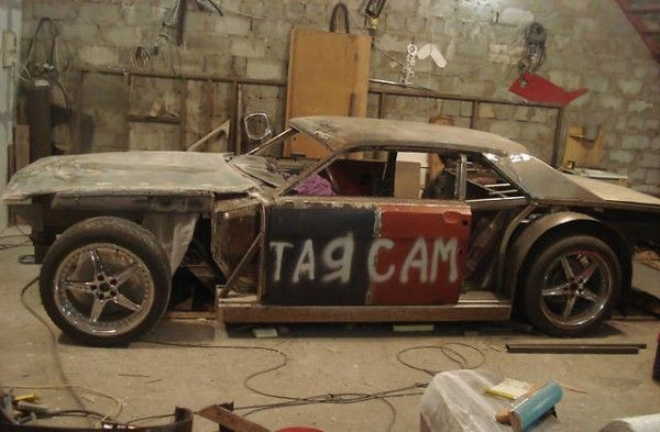 Не верь глазам: muscle-car по мотивам ГАЗ-24!